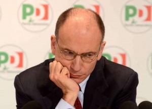 Il neo eletto Presidente Enrico-Letta