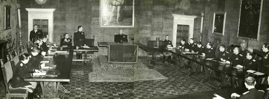 La seduta del GCF che votò la sfiducia a Mussolini