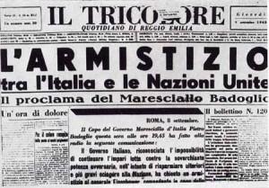 8 settembre 1943: l'Italia esce dalal Guerra