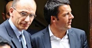 Renzi rottama il Governo Letta