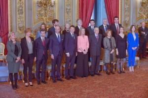 La squadra di Governo di Renzi
